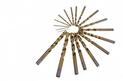 19pcs TiAN Coated HSS Twist Drill Sets
