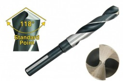 High-Speed Steel Reduced-Shank Drill Bit