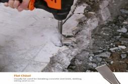 Flat Chisel Bits for masonry