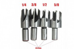 Drill Bit Set 8pcs Scotic Wood Plug Cutter Cutting Tool Drill Bit Set