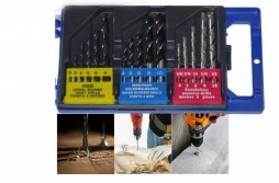 15pcs Combination Drill Sets