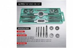 HSS Taps & Dies Combination Sets 12-Piece