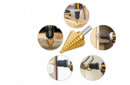 Titanium Step Drill Bit
