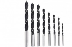 Brad Point Wood Drill Bit Set 8pcs