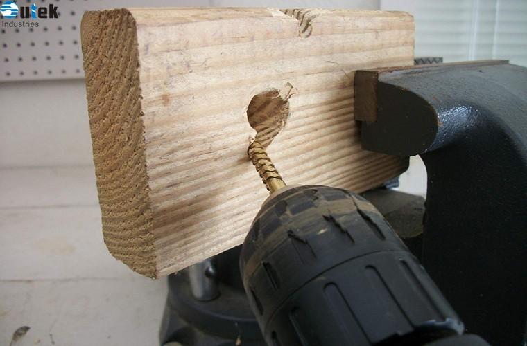 HSS Saw Drill Set 6pcs 3-8mm Titanium HSS Drill & Saw Bit Set