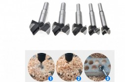 5Packs Forstner Drill Bits Sets/15-35mm high Carbon Steel