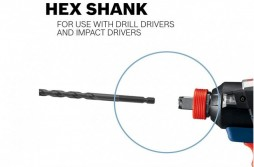 Hex Shank Masonry Drill Bits