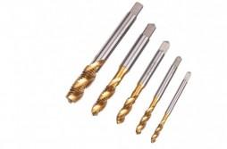 5pcs Hss Metric Drill Tap Set