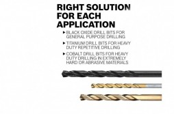 M35 Cobalt Steel Extremely Heat Resistant Twist Drill Bits